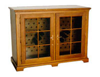 винный шкаф OAK Wine Cabinet 129GD-T