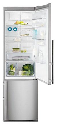 двухкамерный холодильник Electrolux EN 3887 AOX