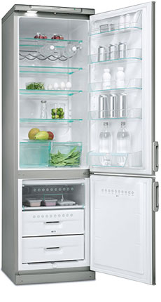 двухкамерный холодильник Electrolux ERB 3798 X