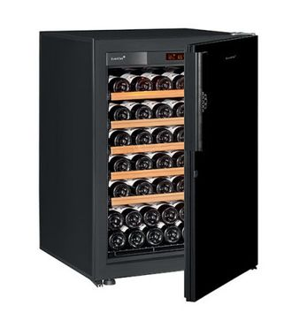 винный шкаф EuroCave S-Pure-S Black Piano черный (74 бутылки)