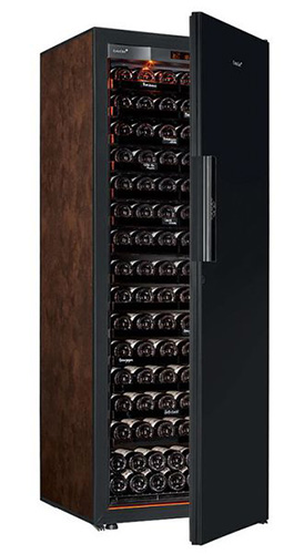 винный шкаф EuroCave S-Revel-L Black Piano буйвол (182 бутылки)