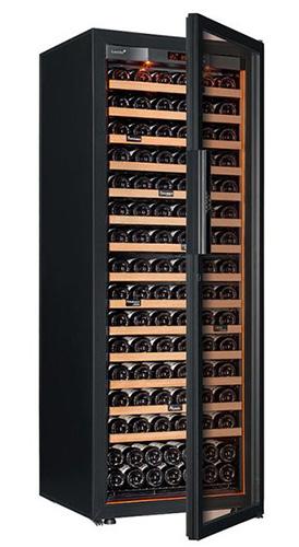 винный шкаф EuroCave S-Revel-L Full glass черный (182 бутылки)