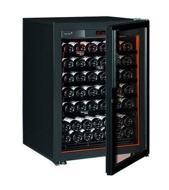 винный шкаф EuroCave S-Revel-S Full glass черный (74 бутылки)