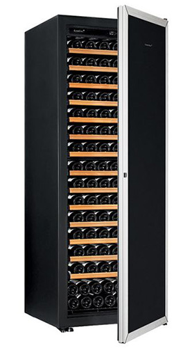 винный шкаф EuroCave V-Prem-L серая дверь (182 бутылки)