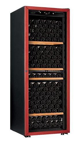 винный шкаф EuroCave V-Prem-L красный (213 бутылок)