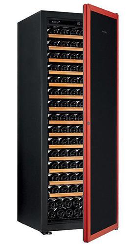 винный шкаф EuroCave V-Prem-L красная дверь (182 бутылки)