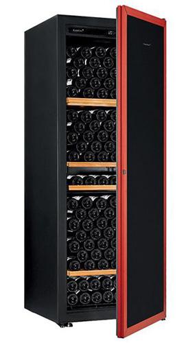 винный шкаф EuroCave V-Prem-L красная дверь (213 бутылок)
