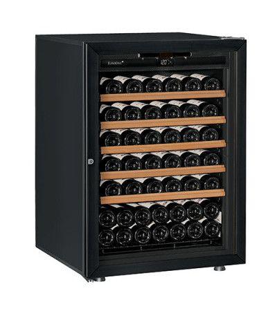 винный шкаф EuroCave V-Prem-S черное стекло (74 бутылки)