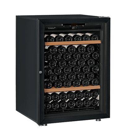 винный шкаф EuroCave V-Prem-S черное стекло (92 бутылки)