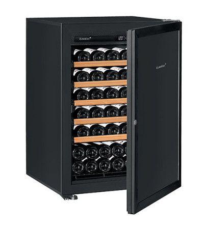 винный шкаф EuroCave V-Prem-S черная дверь (74 бутылки)