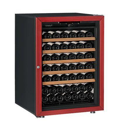 винный шкаф EuroCave V-Prem-S красный (74 бутылки)
