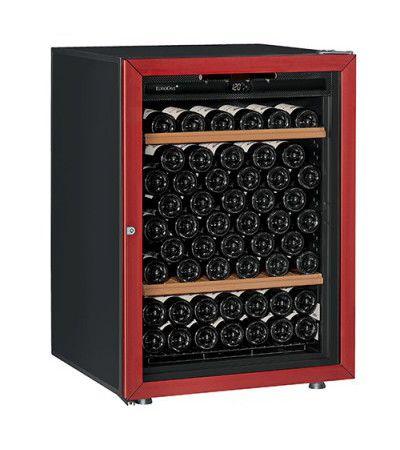винный шкаф EuroCave V-Prem-S красный (92 бутылки)