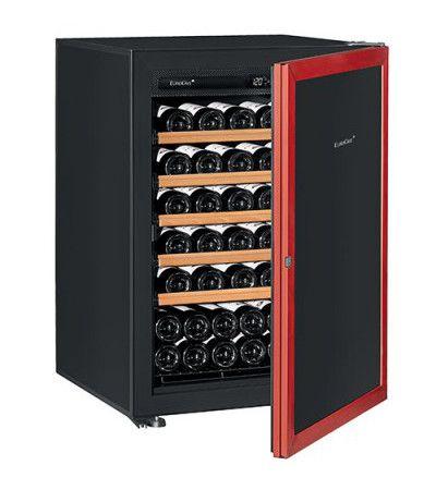 винный шкаф EuroCave V-Prem-S красная дверь (74 бутылки)