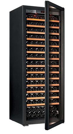 винный шкаф EuroCave V-Pure-L черный (182 бутылки)
