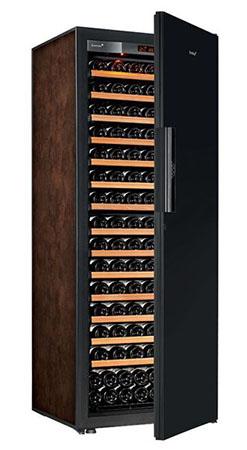 винный шкаф EuroCave V-Pure-L Black Piano буйвол (182 бутылки)