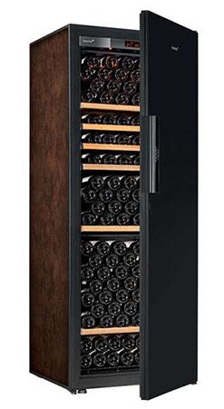 винный шкаф EuroCave V-Pure-L Black Piano буйвол (215 бутылок)
