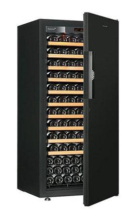 винный шкаф EuroCave V-Pure-M Black Piano черный (141 бутылка)