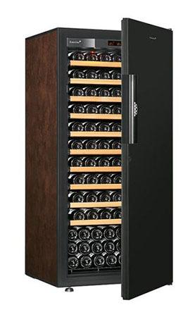 винный шкаф EuroCave V-Pure-M Black Piano буйвол (141 бутылка)