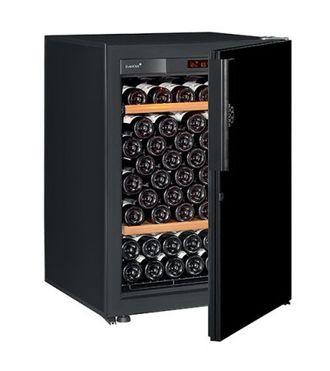 винный шкаф EuroCave V-Pure-S Black Piano черный (92 бутылки)