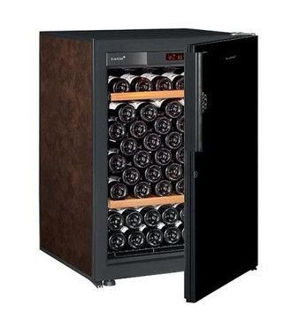 винный шкаф EuroCave V-Pure-S Black Piano буйвол (92 бутылки)