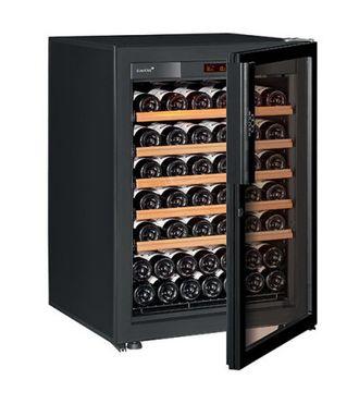 винный шкаф EuroCave V-Pure-S Full glass черный (74 бутылки)