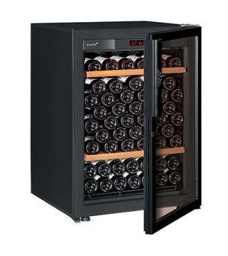 винный шкаф EuroCave V-Pure-S Full glass черный (92 бутылки)