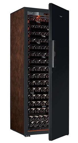 винный шкаф EuroCave V-Revel-L Black Piano буйвол (182 бутылки)