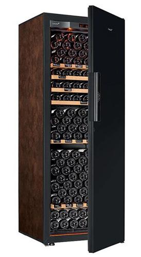 винный шкаф EuroCave V-Revel-L Black Piano буйвол (215 бутылок)