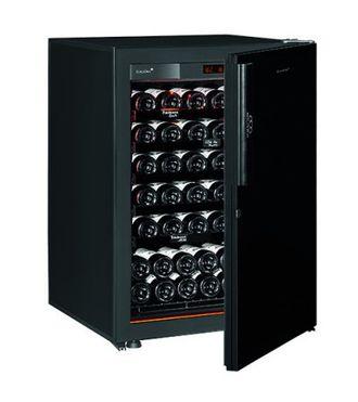 винный шкаф EuroCave V-Revel-S Black Piano черный (74 бутылки)