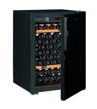 винный шкаф EuroCave V-Revel-S Black Piano черный (92 бутылки)