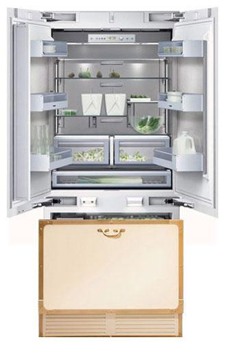 двухкамерный холодильник Restart FRR026