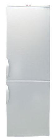 двухкамерный холодильник AKAI ARF 186/340 WH