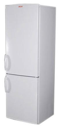 двухкамерный холодильник AKAI ARF 201/380 WH