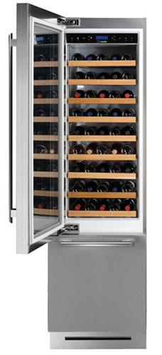 морозильники с винным шкафом Scholtes XRCB W 60 (IX)
