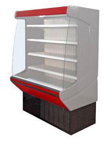 холодильная и морозильная витрина Брандфорд Astra 130 (фруктовая)