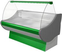 холодильная и морозильная витрина Протек 110 ВХЗ(СН)-1511.02