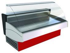 холодильная и морозильная витрина Криспи (Cryspi) BLUES 2400