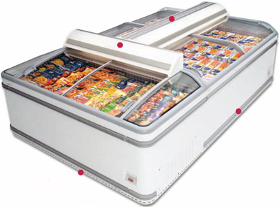 холодильный и морозильный ларь AHT ATHEN XL 210 (U) AD VS