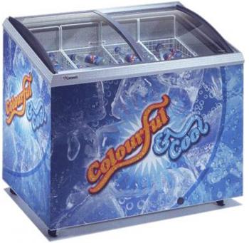 холодильный и морозильный ларь Caravell 206-995