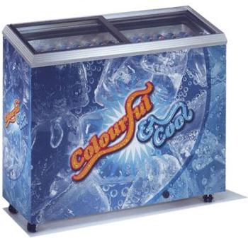 холодильный и морозильный ларь Caravell 225-935