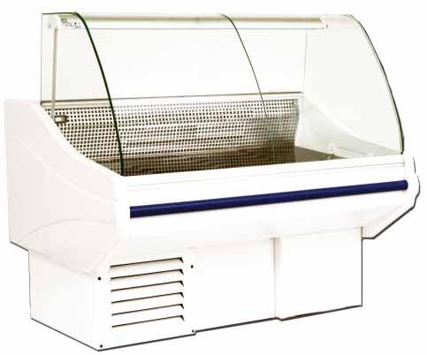 холодильная и морозильная витрина Juka JORDANII W-1 JR мод.160/100