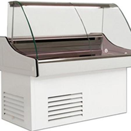 холодильная и морозильная витрина Juka  POLLUX мод.W-1 180/88