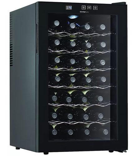 винный шкаф Shivaki SHW-28V1