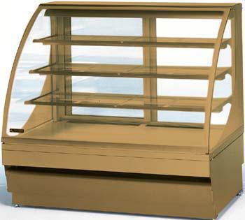 холодильная и морозильная витрина Norpe SAGA-135-O-HC_дуб