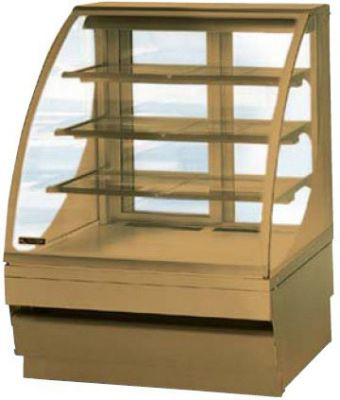 холодильная и морозильная витрина Norpe SAGA-90-M-HC_дуб