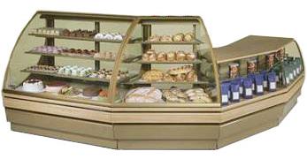 холодильная и морозильная витрина Norpe SAGA-EA-45-W-ST.ST_нерж