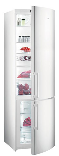 двухкамерный холодильник Gorenje NRK6200KW
