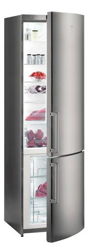 двухкамерный холодильник Gorenje NRK6200KX