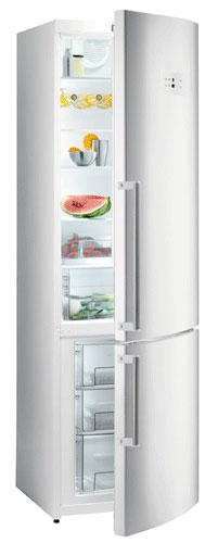 двухкамерный холодильник Gorenje NRK6201MW
