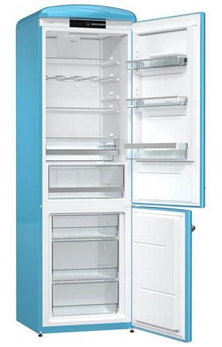 двухкамерный холодильник Gorenje ORK192BL